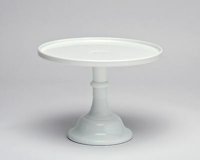 Mosser Glass: Cake Plate, Milk