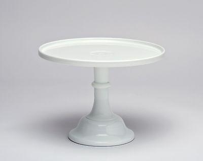 Mosser Glass: Cake Plate, Milk