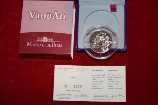 Acheter Pas Cher Monnaie De Paris Avec Coffret- Vauban 1/4€ Argent Remise GéNéRale Sur La Vente 50-70%