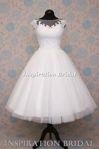 UK-dress-maker-1546-short-50s-60s-wedding-dresses-tea-length-knee-corded-lace