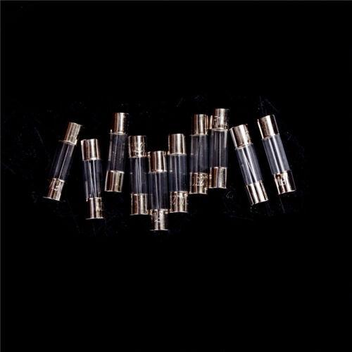 10Pcs set 5x20mm flink Glasrohr flinke Sicherung 1-20 VC