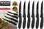thumbnail 1 - NEW Viners TRADITIONAL Steak Knives Dining Cutlery Soft Touch Handles Set of 6Pc