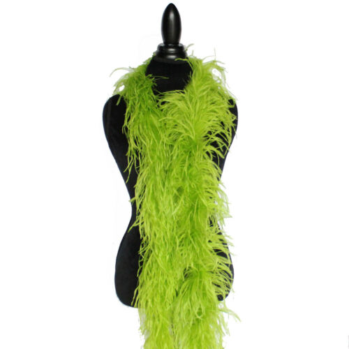 """72/""""long A+ Quality Ostrich Feather Boa 2 ply 30+  colors to pick from NEW!"""