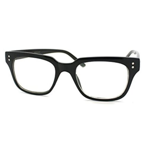 Kingsman Glasses Black Eyeglasses Nerd Dots Secret Service Movie Fashion Costume
