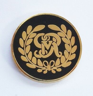 KINGS ROYAL HUSSARS LAPEL PIN OR WALKING STICK MOUNT