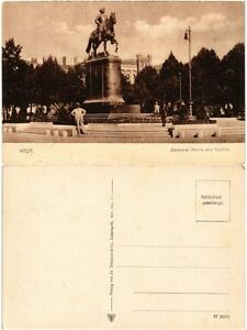 Cpa Riga Denkmal Peters Des Grossen. Latvia (373861) Xsw56zoa-07215455-845827244