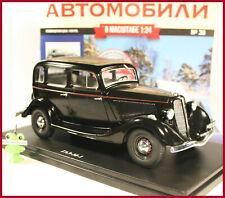 1:24 GAZ M1 Hachette #28 DDR Russische Russian Ford Model B 40A Fordor UdSSR OVP