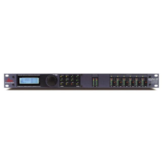 DBX DriveRack 260 2x6 Loudspeaker Management System