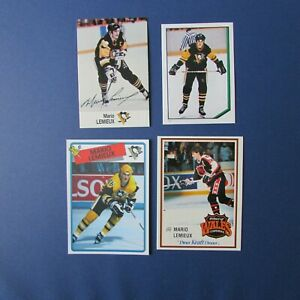 MARIO-LEMIEUX-12-diff-odd-cards-Pittsburgh-Penguins-O-Pee-Chee-Topps-1986-1990