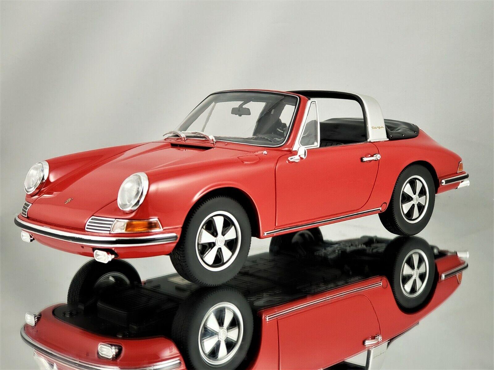 GT Spirit  Porsche 911 S (901) Targa 1967 Polo Rouge Résine Voiture Modèle 1 18  de gros