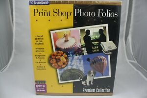 The-Print-Shop-Photo-Folios-Premium-Collection-For-PC-By-Broderbund-New