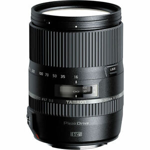 Tamron 16-300mm f/3.5-6.3 Di II VC PZD Lens for CANON Digital SLR Cameras - NEW!