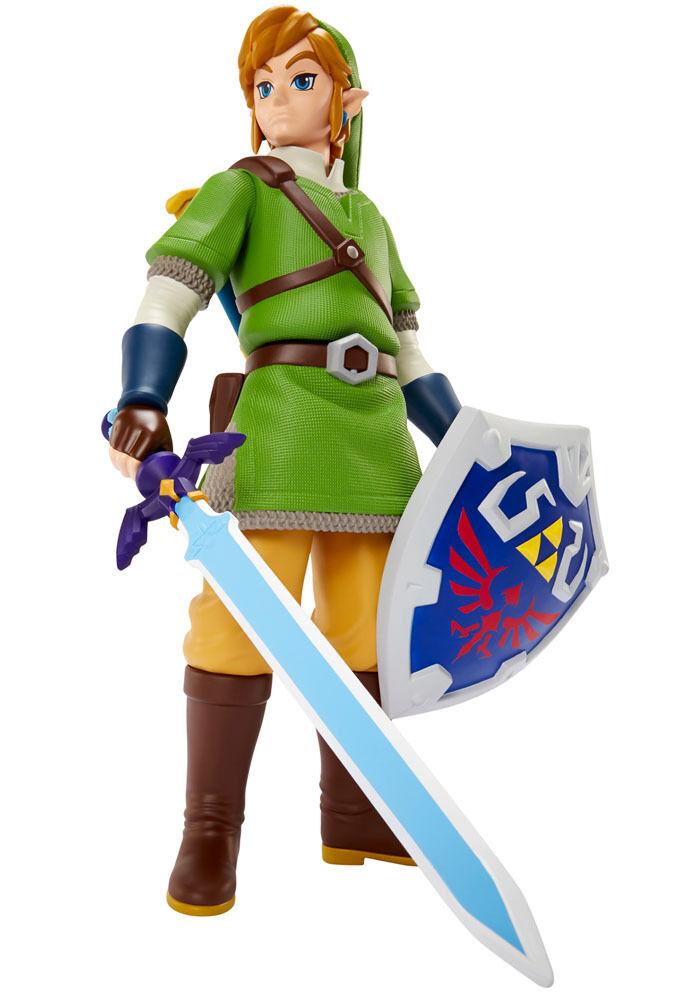 The Legend of Big Zelda Actionfigur Deluxe Big of Link 50 cm NEU & OVP 62fb76