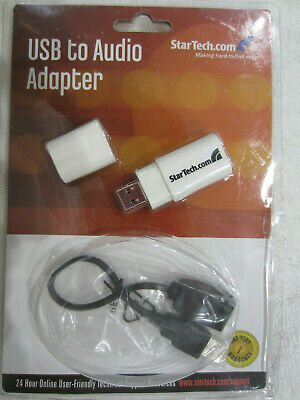 StarTech.com ICUSBAUDIOB Audio USB Adapter