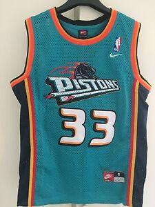Maglia-canotta-NBA-basket-Grant-Hill-Jersey-Detroit-Pistons-New-S-M-L-XL-XXL