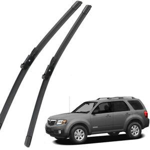 New Set OEM Front Windshield Wiper Blades For 2014-2018 Mazda 3 Axela 3 Sport