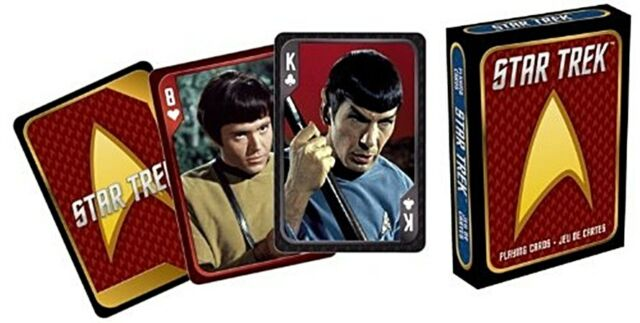 Star Trek Original Cast set of  playing cards + jokers       (nm)