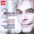 """Mahler: Symphony No. 2 """"Resurrection"""" (CD, Feb-2011, 2 Discs, EMI Classics)"""