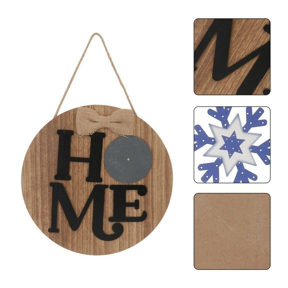 1 Pc Letter Board Decor Door Letters Pendant Wood Board Decor for Wall Door Home