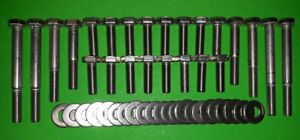 VW-Volkswagen-Split-Screen-Van-STAINLESS-Bumper-Bolts-Kit-1960-67-Towl-Rail-Bus