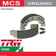 2 Machoires de frein Arrière Organic TRW MCS905 Suzuki GT 750 (GT750) 73-77