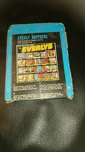 8 Track Cassette Cartridge Everly brothers walk right back with the Everly's