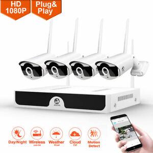 CCTV-Kit-1080P-2MP-8CH-DVR-IP-Wifi-CaMara-Seguridad-Sistema-De-Video-Vigilancia