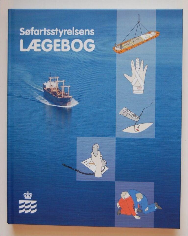 Søfartsstyrelsens LÆGEBOG   Hardback 235 sider...