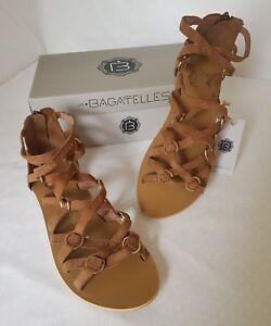64fb4d255d40 LES BAGATELLES - HANDMADE LEAHTER ONLY Chaussure Sandale Spartiate ...