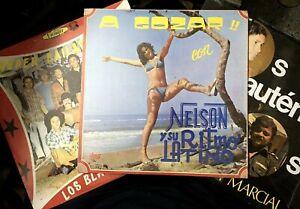 Los Black Stars, Nelson y Su Ritmo, Los Auténticos LOT (3 LPS NEW!) Salsa, Latin