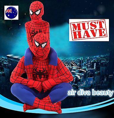 Kids Boy Child spiderman spider man Super hero Party Halloween Costume mask C216