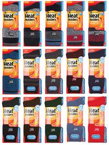 800d994726ce5 Heat Holders - Herren Bunt Muster Winter Warm Thermosocken / Socken ...