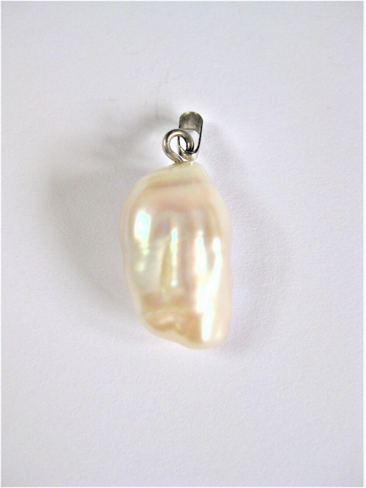 Anhänger whitegold 585 mit Perle, 2,48 g