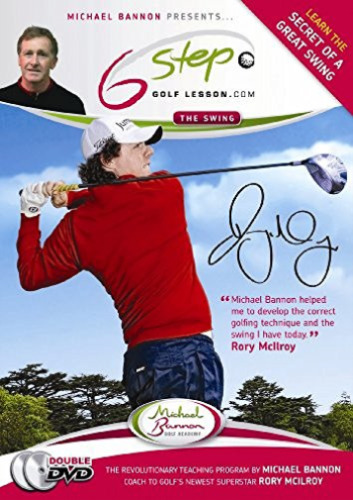 1 of 1 - Michael Bannon-Six Steps To Better Golf Double Set  DVD NEW