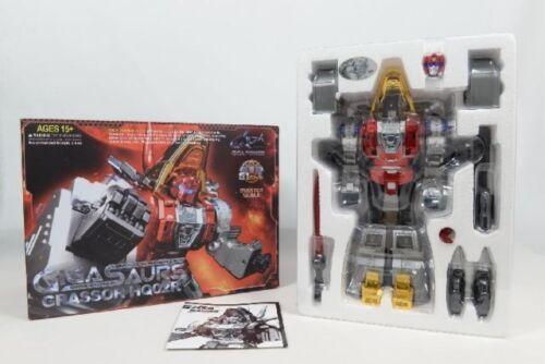 Transformers Toy Gigapower GP HQ-02R Grassor Slag Master Robots In Stock MISB