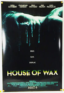 House Of Wax Ds Rolled Orig 1sh Movie Poster Elisha Cuthbert Horror 2005 Ebay