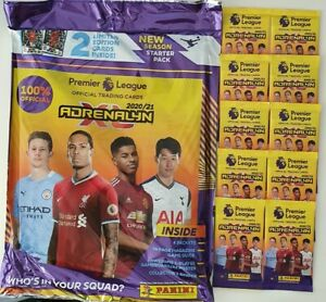 2020-21-PANINI-Adrenalyn-EPL-Soccer-Cards-Starter-Pack-10-Packets-FREE-SHIP