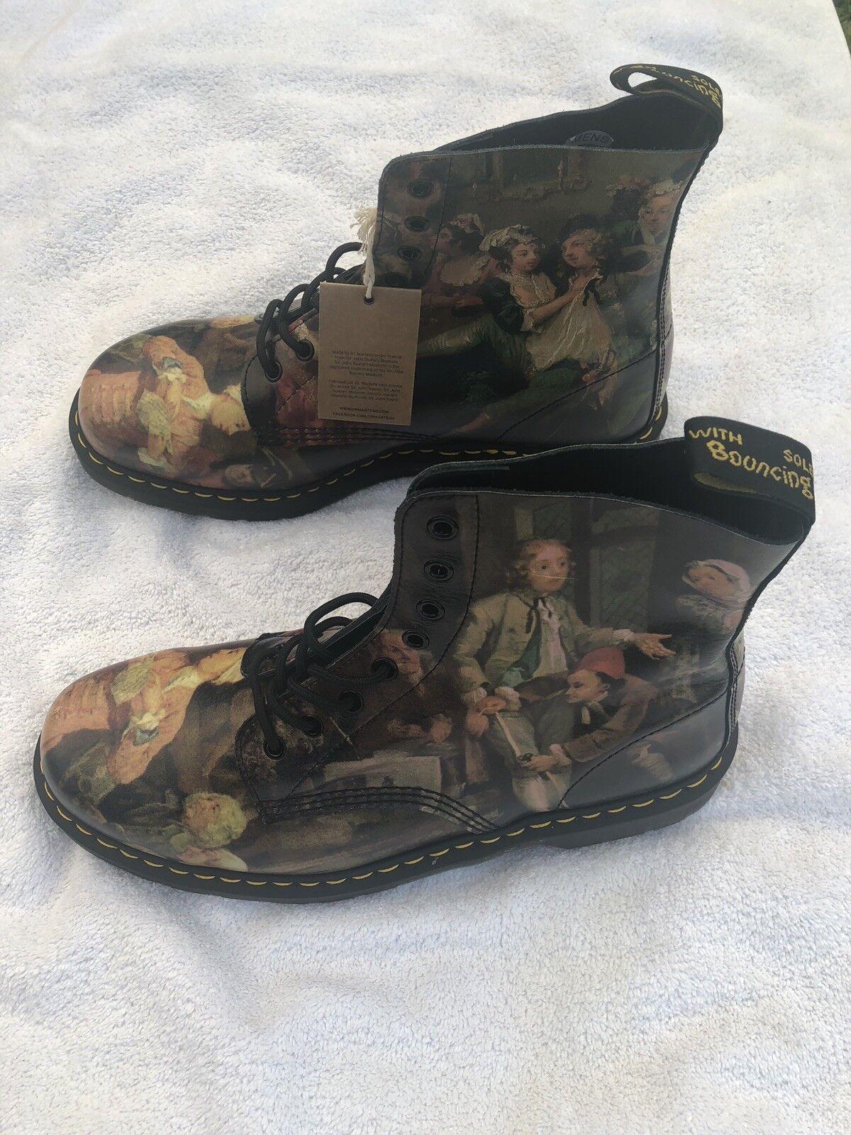New New New Men Dr. Doc Martens William Hogarth Pascal Stiefel US 13 M Renaissance 6ce2d8