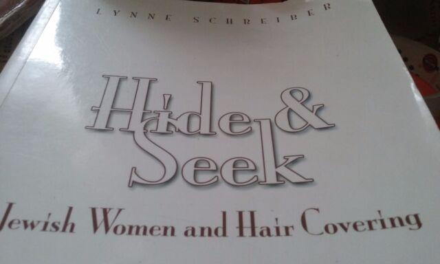 HIDE & SEEK Jewish Women HAIR COVERING Obligation LAW Sheitel Wig Bible Snood