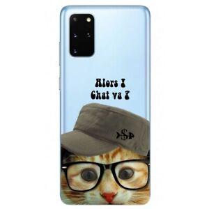 Coque Galaxy Note 10 LITE chat casquette