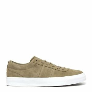 Converse One Star CC OX Khaki//White Skate Shoe