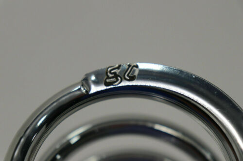 """AFCO Coil Spring 2 5//8/"""" 80 lb 14/"""" for Coil-Over Shock ONE SPRING Chrome  NEW"""