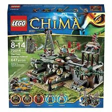 LEGO CROC SWAMP HIDEOUT Legends Chima retired set 70014 new sealed, global ship