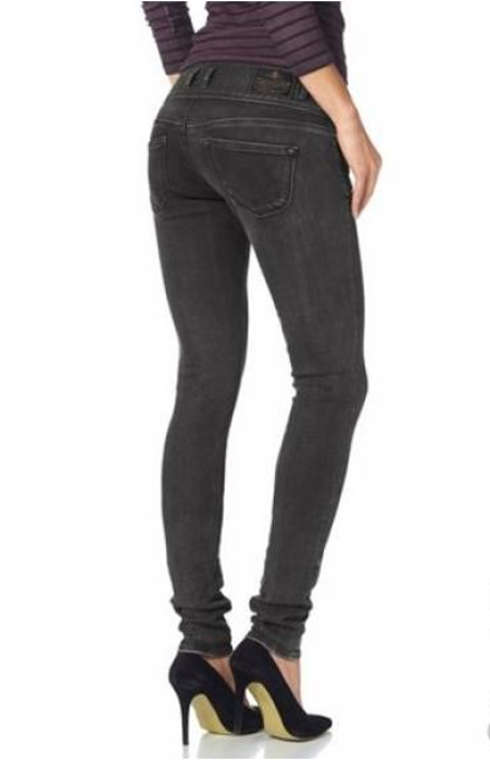 Herrlicher Damen Jeans Birdy Slim 5704 DB650 Grau W34 L32