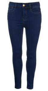 Golddigga-Jean-Jegging-Ladies-Blue-Womens-Mid-Wash-Uk-Size-8-REF76