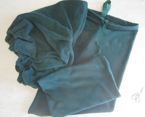 Horse Saddle cover Bridlebag /& Free hatbag also EMBROIDERED FREE Dark Green