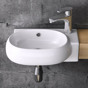 handwaschbecken waschschale waschbecken waschtisch g ste wc br001l mit nano ebay. Black Bedroom Furniture Sets. Home Design Ideas