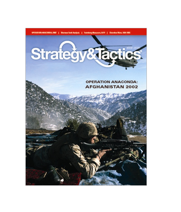 Strategy & Tactics  276 w  Operation Anaconda, NEW