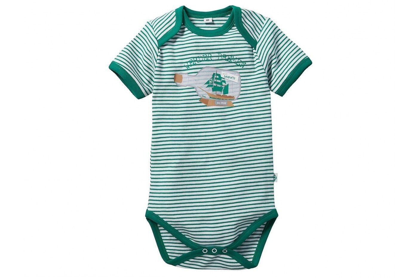 56-80 Werder Bremen SV GOTS Baby Baggy-Pant Gr