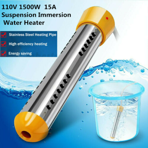2500W Water Heater Portable Electric Immersion Elecment Boiler for Bath Tub ^ly